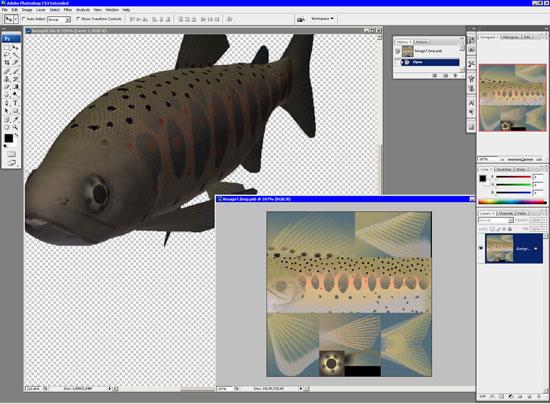 Как сделать 3д изображение в фотошопе