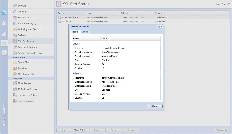 Kerio Connect Standard License Server License